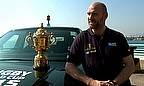 Lawrence Dallaglio on the RWC Trophy Tour in China