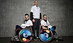 GB Wheelchair Rugby Captain Mike Kerr and VC Chris Ryan, plus England star Mike Brown