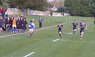 University Rugby Highlights - Bath 38-27 Exeter - Key Tries
