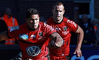 David Smith went over for one of Toulon's tries