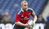 Keith Earls went over for Munster's first try
