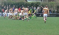 Action from Fylde v Henley in SSE National League 1