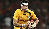 Centre Adam Ashley-Cooper with a Man of the Match performance