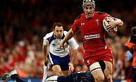 Wales centre Jonathan Davies is waiting on the results of a scan