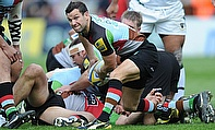 Harlequins scrum-half Karl Dickson has extended his contract with the club