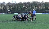 Action from Birmingham & Solihull Bees v Sedgley Park Tigers