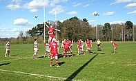 Broadstreet claim a line-out against Stockport