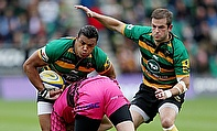 Luther Burrell scored a brace of tries as Northampton secured a 46-0 win over London Welsh