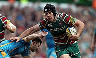 Leicester flanker Julian Salvi will leave the East Midlands club this summer