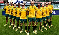 Wallabies in their new Asics Rugby World Cup 2015 Jersey