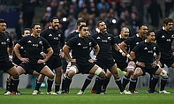 All blacks in Haka mode
