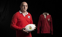 Keith Wood in his British & Irish Lions jersey