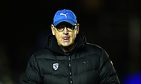 Jake White could only watch as his Montpellier side were well beaten by Harlequins