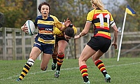Kelly Smith on the charge for Worcester