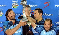 The Bulls winning the Super Rugby title in 2010