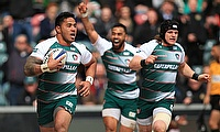 Manu Tuilagi will be hoping to play a major role for Leicester against Racing on Sunday
