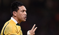Christian Leali'ifano kicked 13 points for the victorious Brumbies