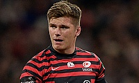 Owen Farrell is the leading point scorer in the European Champions Cup 2015/16 season.