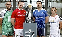 Connacht, Munster, Leinster and Ulster