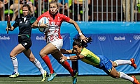 GB's women see off Brazil as rugby sevens has its moment in the sun
