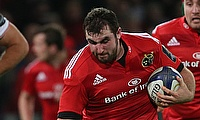 James Cronin scored one of Munster's tries