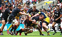 Schalk Burger in action for Saracens
