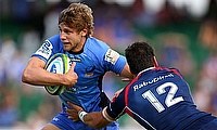 Kyle Godwin in action for the Western Force