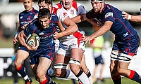 Robbie Fergusson in action for London Scottish
