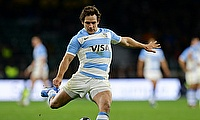 Nicolas Sanchez scored two tries and kicked 19 points for Argentina in Tokyo
