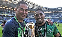 Bundee Aki (right) was among the try-scorers for Connacht