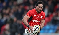 Brad Barritt stood out for Saracens