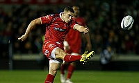 Steven Shingler excelled with the boot for Cardiff Blues
