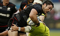 Brad Barritt banned for three weeks but Richard Barrington's red card rescinded