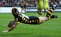 Wasps scrum-half Dan Robson scored the match-winning try against Toulouse