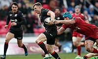 Chris Ashton helped Saracens progress to the knockout rounds