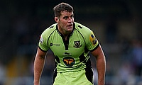 Northampton Saints flanker Calum Clark will join Saracens in the summer