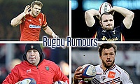 Dan Biggar, Ken Owens, Adam Ashley-Cooper and Richard Cockerill