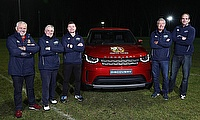 Gatland, Edwards, O'Driscoll, Hasting and Johnson