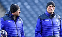 Vern Cotter, pictured right, has been cheered by Scotland's improving fitness situation