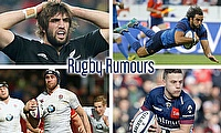 Sam Whitelock, Yoann Huget, Ian Madigan and George Nott
