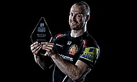 James Short named Aviva Premiership Rugby player of the month
