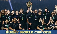World champions New Zealand, pictured, will play the Barbarians at Twickenham on November 4