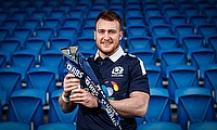 Stuart Hogg has won the RBS 6 Nations player of the championship award for the second year running