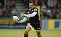 Saracens' Alex Goode scored a try of the season contender against Bath