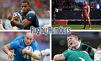 Virimi Vakatawa, Leigh Halfpenny, Donnacha Ryan and Sergio Parisse