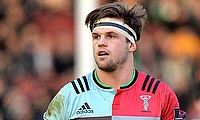 Harlequins and England forward Jack Clifford is expected to be sidelined for 12 weeks due to a shoulder problem