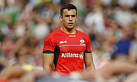 Alex Lozowski won the match for Saracens