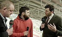 Rugby heroes Shane Horgan & Mick Galwey put supporters to the test