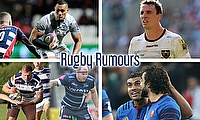 Robbie Fruean, Louis Picamoles, Huget and Fofana, Neil Briggs and Lee Imiolek