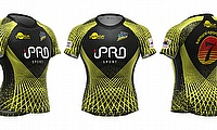 Home jersey of Samurai Barracudas